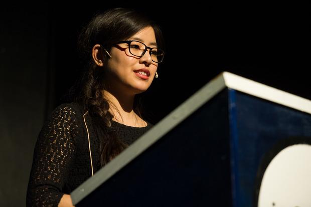 Ti-Anna Wang speaking at ISFiT 2015 - Image courtesy of foto.samfundet.no